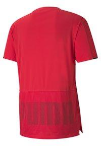 Puma - GRAPHIC  - Print T-shirt - poppy red - 5