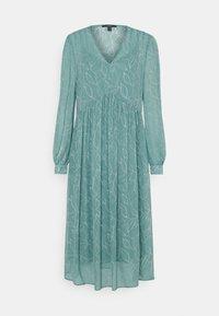 Esprit Collection - DRESS - Vapaa-ajan mekko - dark turquoise - 0