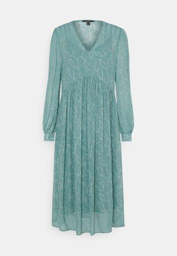 DRESS - Day dress - dark turquoise