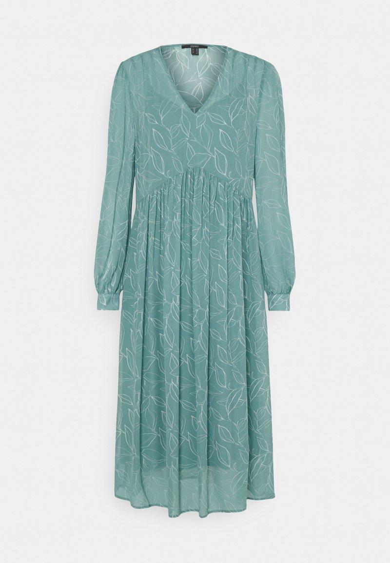 Esprit Collection - DRESS - Vapaa-ajan mekko - dark turquoise