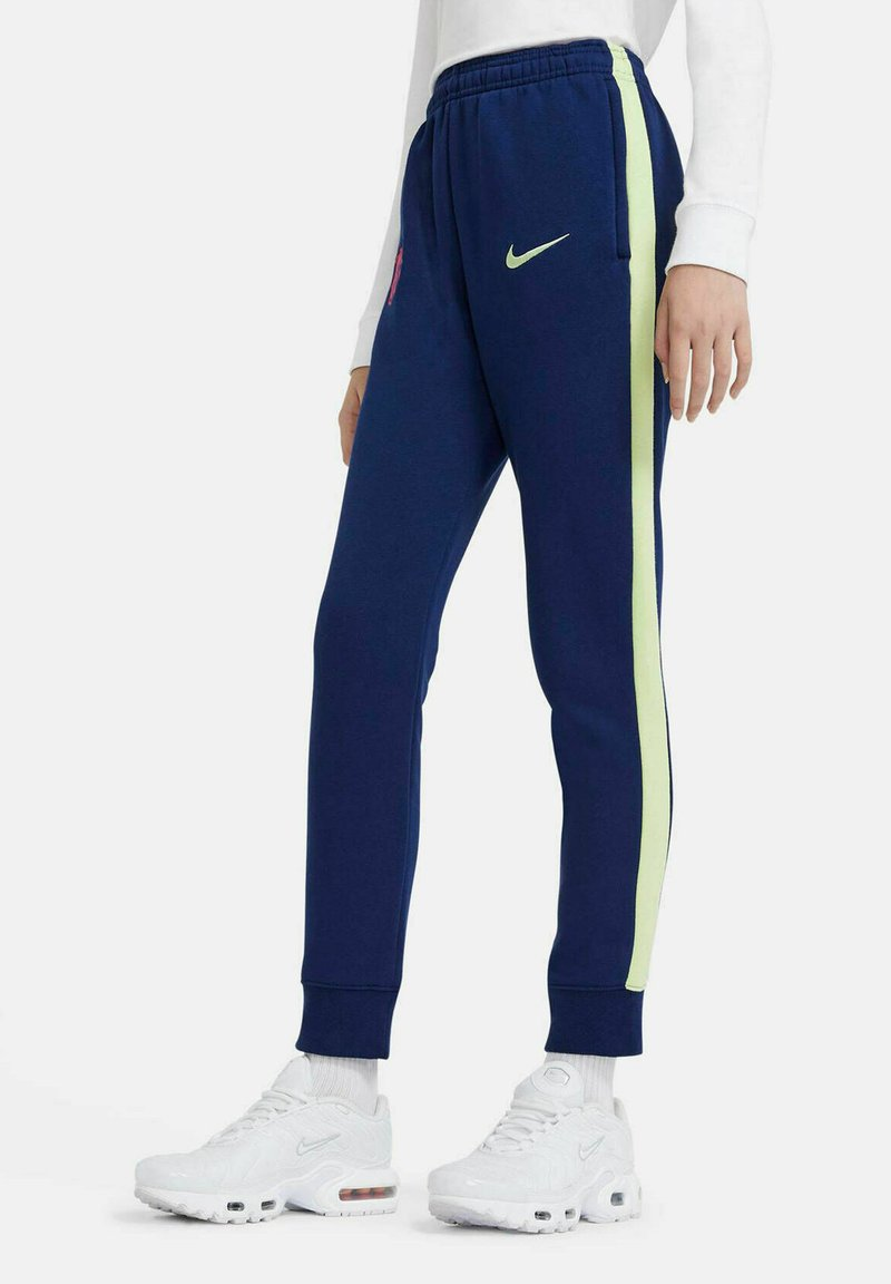 Nike Performance - Tracksuit bottoms - nachtblau