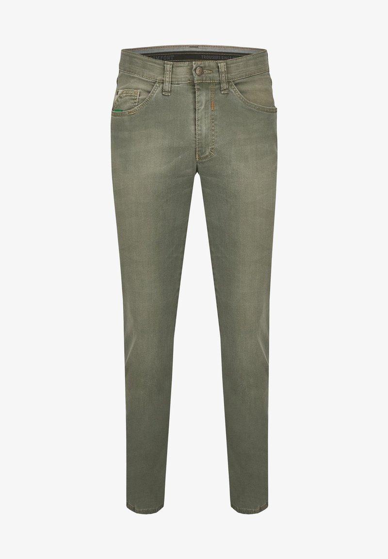 Club of Comfort - Slim fit jeans - grün