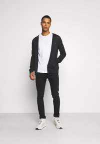 AllSaints - ZIP HOODY - Cardigan - shadow grey marl - 1