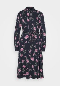 PIECES Tall - PCGLYDA MIDI DRESS - Shirt dress - sky captain/winsome orchid flowers - 4