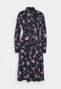 PCGLYDA MIDI DRESS - Košilové šaty - sky captain/winsome orchid flowers