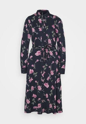 PCGLYDA MIDI DRESS - Sukienka koszulowa - sky captain/winsome orchid flowers