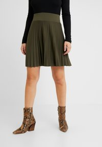 Anna Field Petite - A-line skirt - olive night - 0