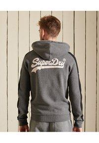 Superdry - Zip-up sweatshirt - rich charcoal marl - 1