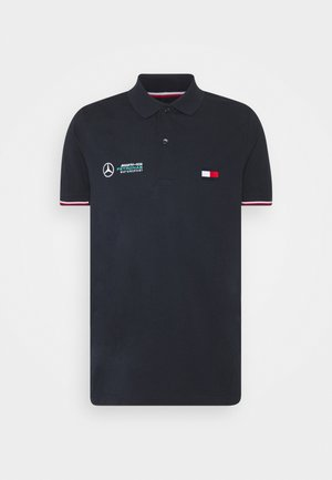 LOGO - Polo shirt - blue