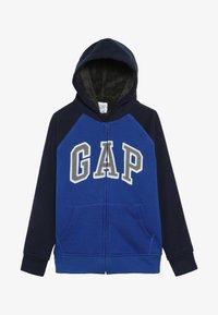 GAP - BOY COZY ARCH HOOD - Felpa aperta - brilliant blue - 3