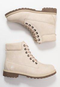 Fila - MAVERICK - Lace-up ankle boots - oyster grey - 3