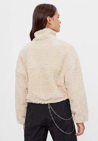 Bershka - Fleece jacket - stone - 2