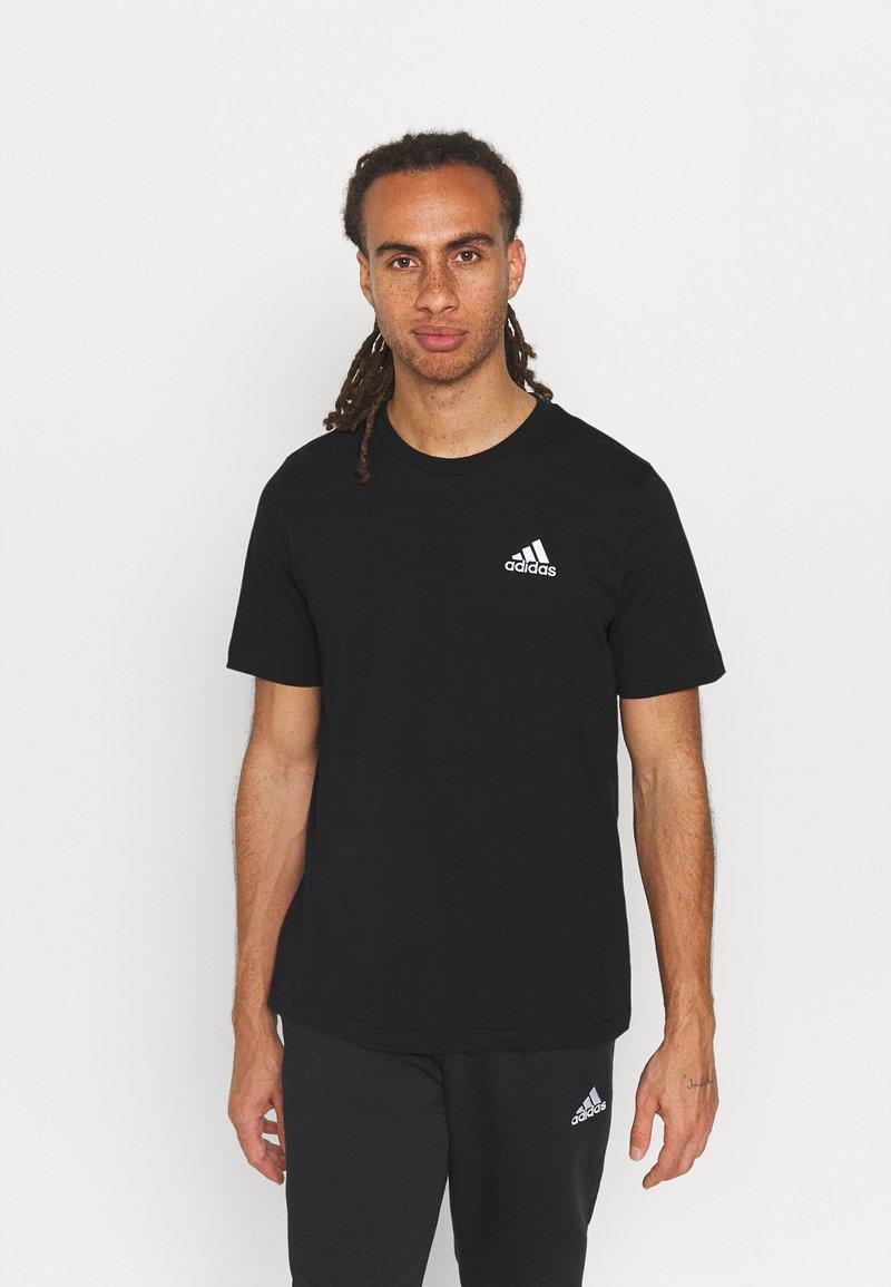 adidas Performance - ESSENTIALS - Basic T-shirt - black