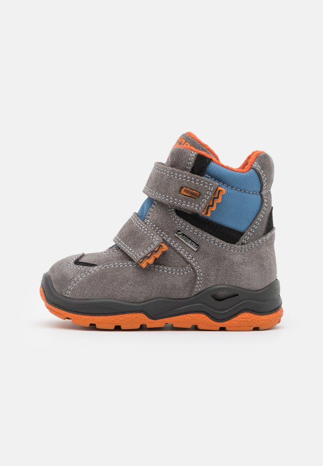 Snowboots  - grigio/cielo