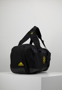 adidas Performance - MANCHESTER UNITED FC - Sportovní taška - black/solar grey/bright yellow - 3