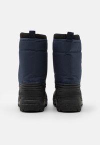 Polo Ralph Lauren - QUILO ZIP UNISEX - Zimní obuv - navy/red - 2