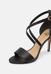 Cosmoparis - ZEANA VEGAN - Sandals - noir - 7