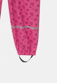 Playshoes - HERZCHEN - Spodnie przeciwdeszczowe - pink - 3