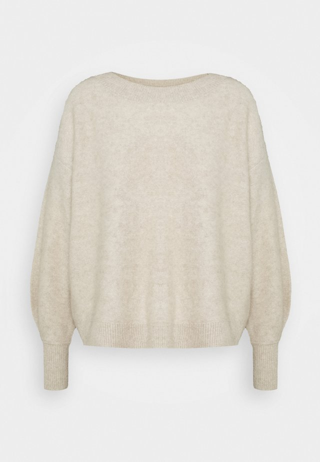 BOILED BOATNECK - Jumper - oat