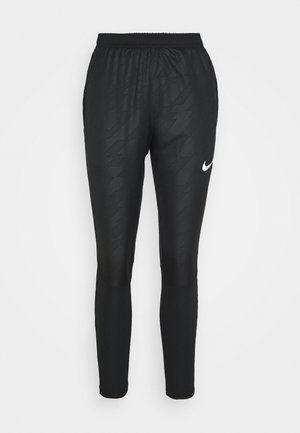 Tracksuit bottoms - black/reflective silver
