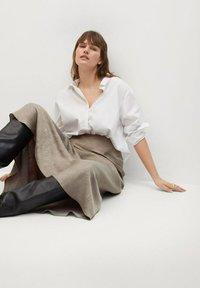 Violeta by Mango - Maxi skirt - copper - 3