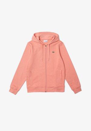 Sweater met rits - rose / rose