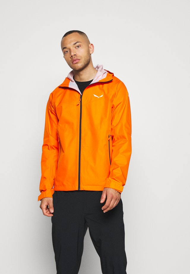 AQUA  - Hardshelljacke - red orange