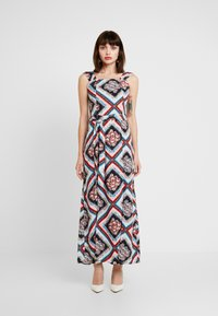 Dorothy Perkins - SQUARE NECK MAXI DRESS - Maxikjoler - multi - 0
