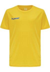 Hummel - DUO SET - Sports shorts - sports yellow/true blue - 1