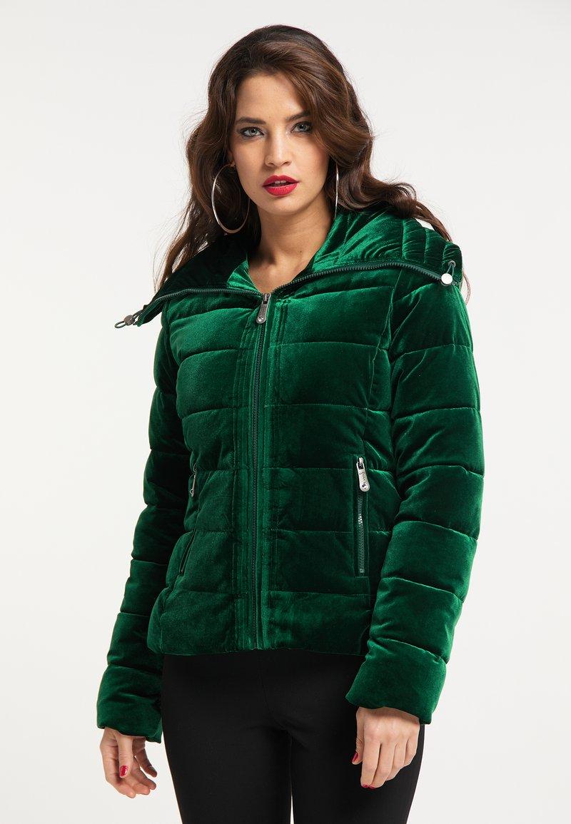 faina - Winter jacket - smaragd