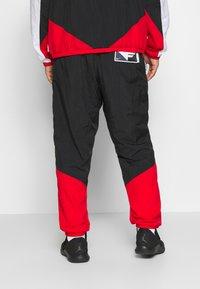 Nike Performance - FLIGHT TRACKSUIT - Tuta - black/white/university red - 5
