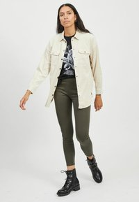 Vila - Button-down blouse - birch - 1