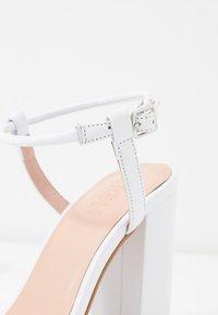 Zign - Sandaler med høye hæler - white - 2