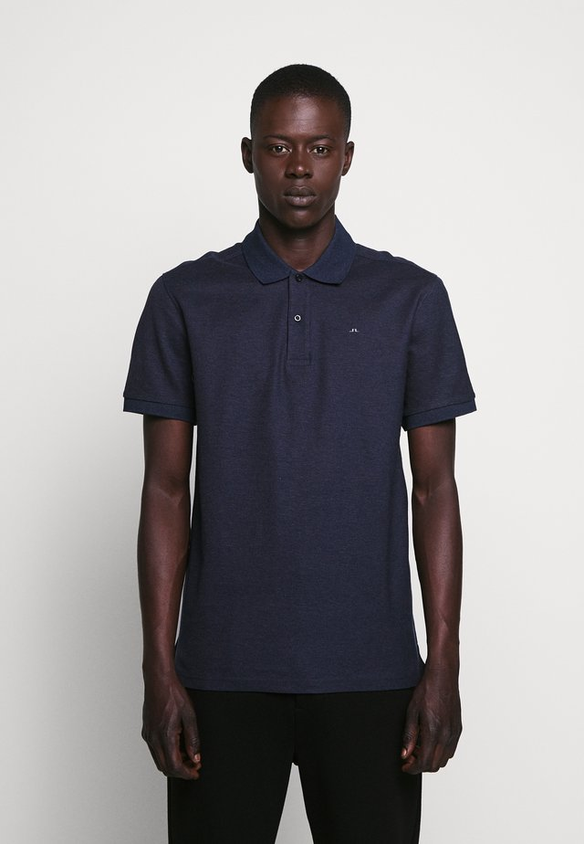 TROY CLEAN - Polo - mid blue