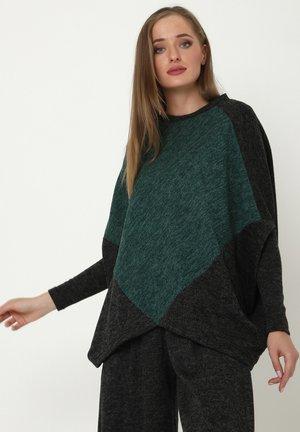EMMANA - Print T-shirt - schwarz, grün