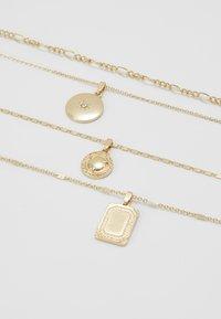 ONLY - ONLDAPHNE CHAIN NECKLACES 4 PACK - Naszyjnik - gold-coloured - 2