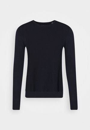 JJEMARK CREW NECK - Stickad tröja - maritime blue