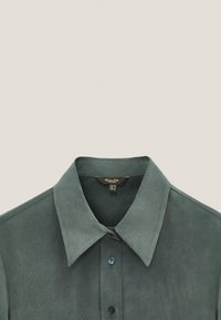 Massimo Dutti - Button-down blouse - green - 4