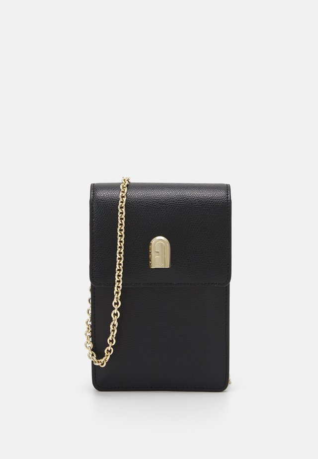 MINI VERTICAL CROSSBODY - Bandolera - nero