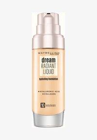 Maybelline New York - DREAM RADIANT LIQUID MAKE-UP - Foundation - 10 ivory - 0