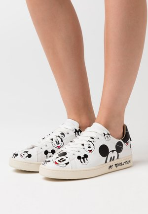 GALLERY - Sneakers laag - white/black