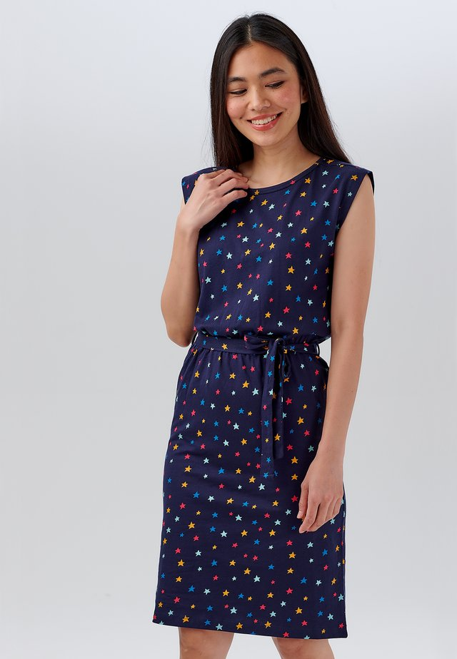 HETTY STARGAZER - Sukienka z dżerseju - navy
