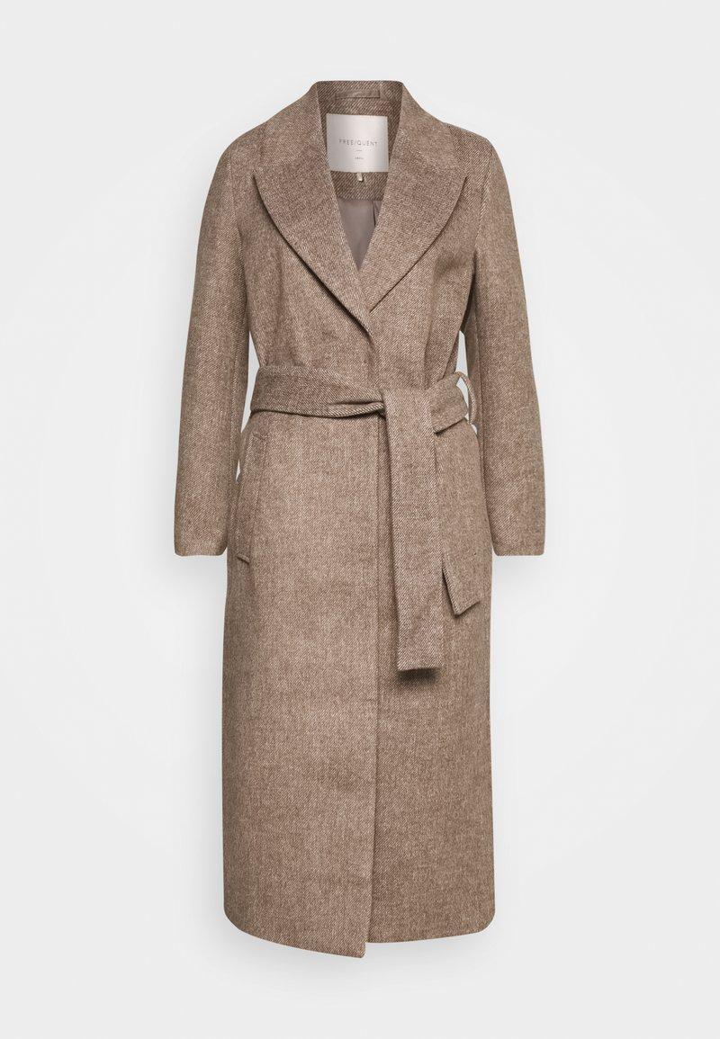 Freequent - FQMACIA POCKET - Classic coat - oxford tan