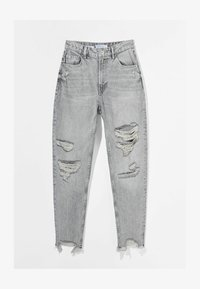 Bershka - Relaxed fit jeans - grey - 4