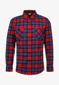 Urban Classics - CHECKED  - Skjorta - red/royal - 5