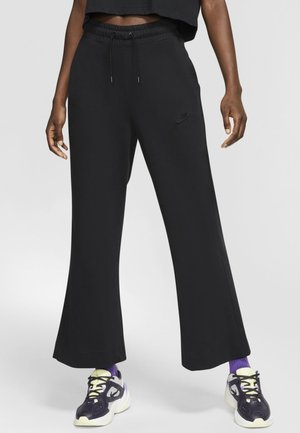 SPODNIE DAMSKIE  - Pantalon de survêtement - black/dark smoke grey