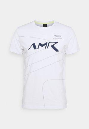 RACING LINES TEE - T-shirt basic - white