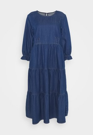 MAJ DRESS - Vardagsklänning - dark blue denim