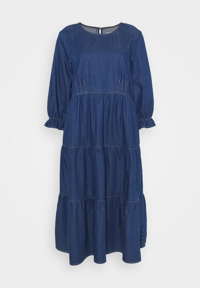 MAJ DRESS - Vapaa-ajan mekko - dark blue denim