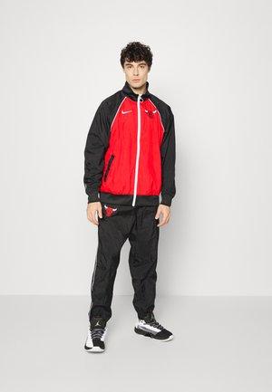 NBA CHICAGO BULLS TRACKSUIT - Club wear - university red/black/white